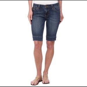 NWT Kut from the Kloth Natalie Bermuda Shorts 14